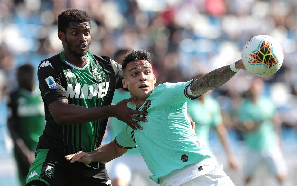 Доскорошният лидер в Серия А – Интер спечели голеадата със