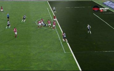 Анализ на ситуацията при гола на Локо Пд срещу ЦСКА