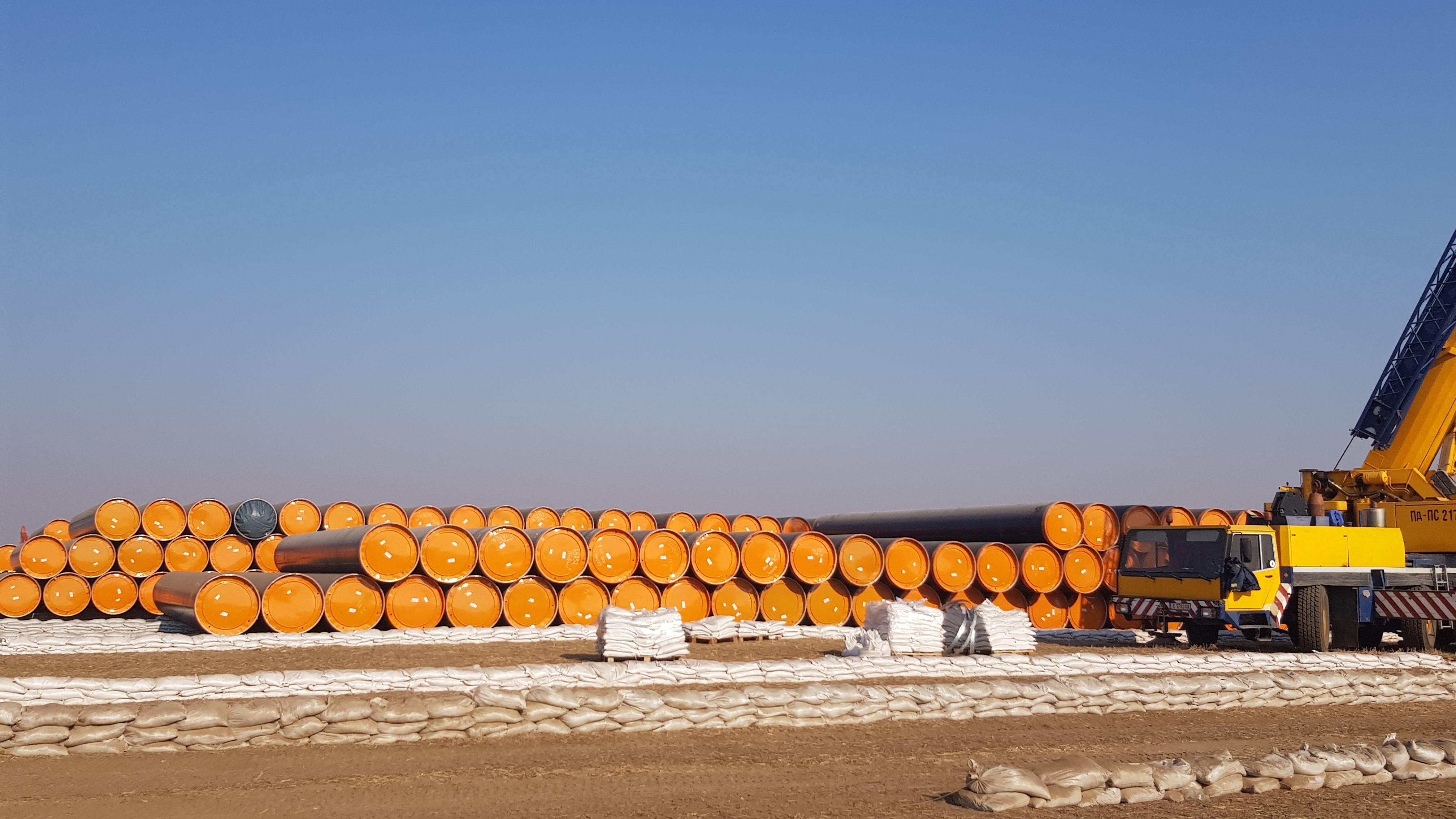 """Трасето включва газоизмервателна станция """"Странджа"""" и 11 км. новоизграден преносен газопровод. Участие в откриването взеха министър-председателят Бойко Борисов, министърът на енергетиката Теменужка Петкова, народни представители, областни управители, кметове и други."""