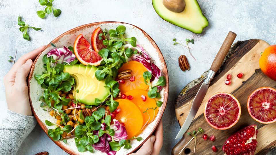 храна здравословно плодове зеленчуци