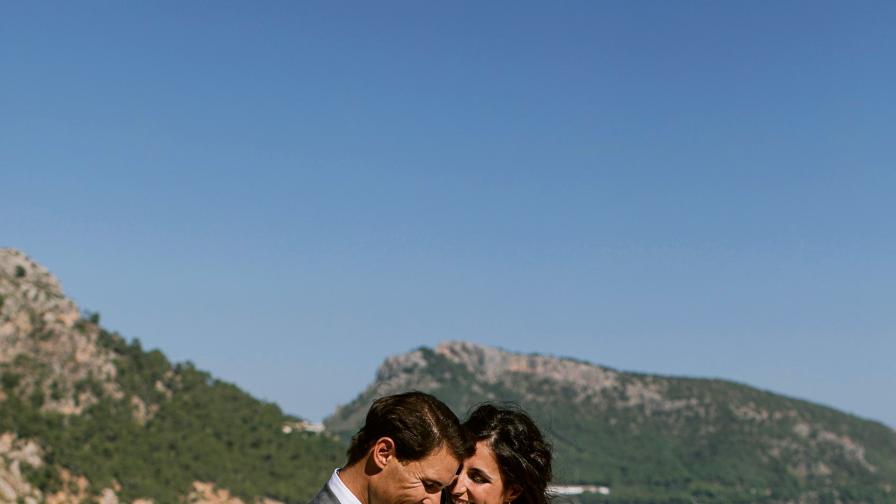 Кралската сватба на Рафаел Надал - първи...
