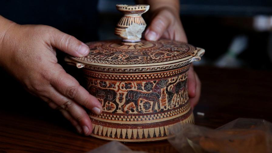 Какво откриха в древна Тенеа