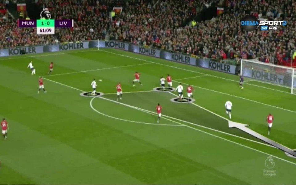 Неделното дерби в Англия между отборите на Манчестър Юнайтед и