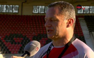 Младен Додич: Бяхме по-добрият отбор