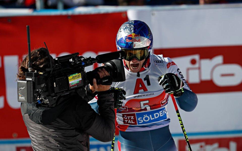 Алекси Пинтуро спечели гиганския слалом в Зьолден