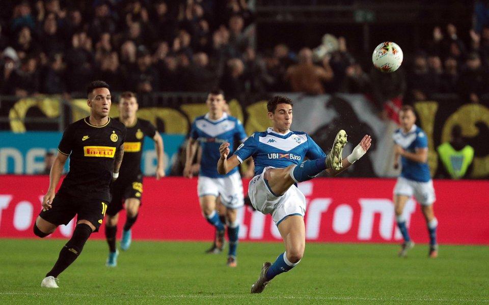 В двубой от 10-ия кръг на Серия А Интер постигна