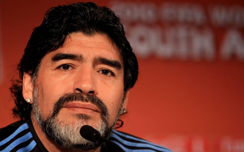 Старши треньорът на Химнасия Диего Марадона може да напусне клуба.