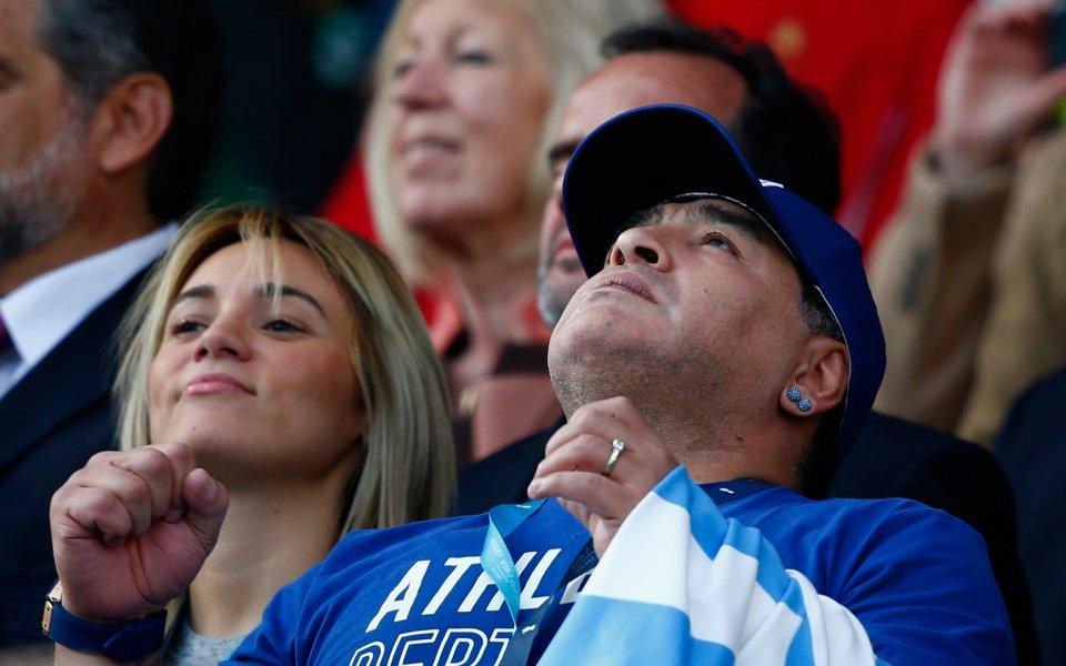 Легендата Диего Марадона беше невероятен като футболист, но сега е