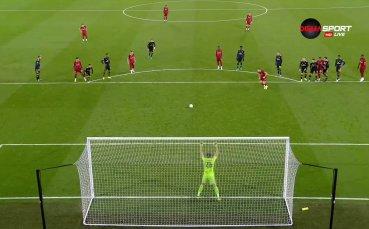 Шоуто на Анфийлд продължава с гол на Ливърпул