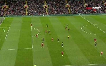 Арсенал с четвърти гол във вратата на Ливърпул