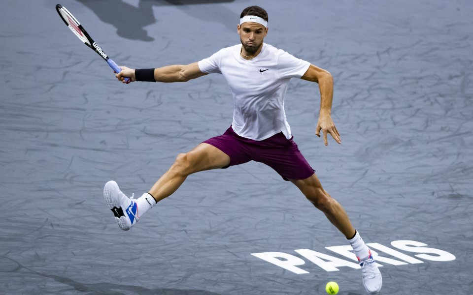 Най-добрият български тенисист Григор Димитров остана на 20-о място в