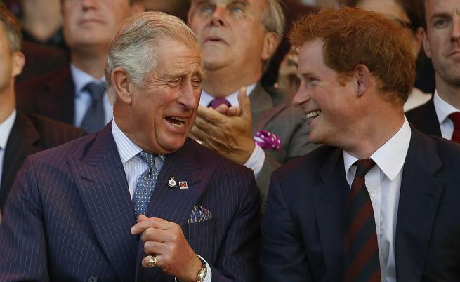 Принц Чарлз и Хари