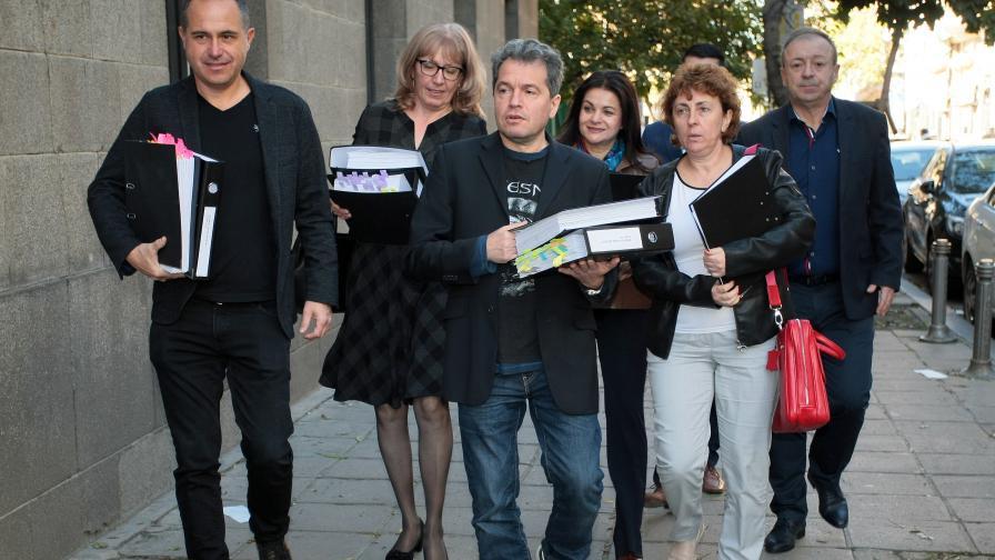Внесоха документи за регистрация на партията на Трифонов, с Мая Манолова ли ще са