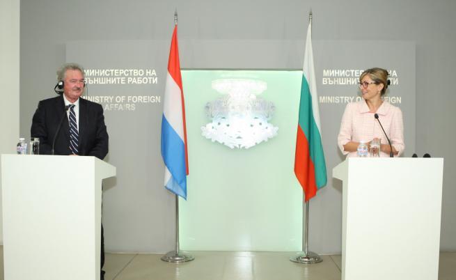 Екатерина Захариева, Жан Аселборн
