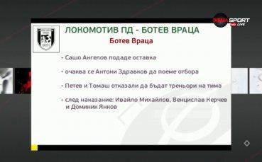 Преди Локомотив Пд - Ботев Враца