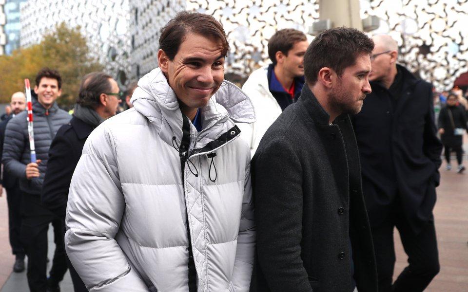 Водачът в световната ранглиста по тенис Рафаел Надале оптимист, че