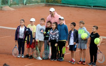 Григор: Трябваха ми само тенис корт и здрави ракети, за да бъда щастлив