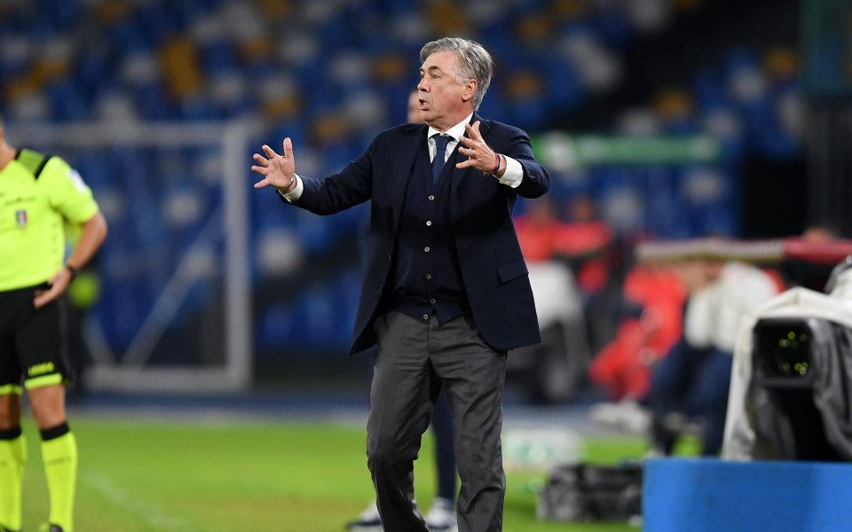 Треньорът на Наполи Карло Анчелоти е получил ултиматум от страна