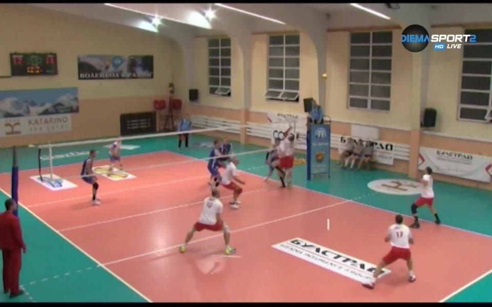 Първенство на България по волейбол за мъже, срещи от петия