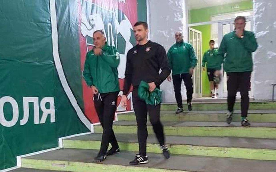 Вальо Илиев се завърна в Ботев Враца