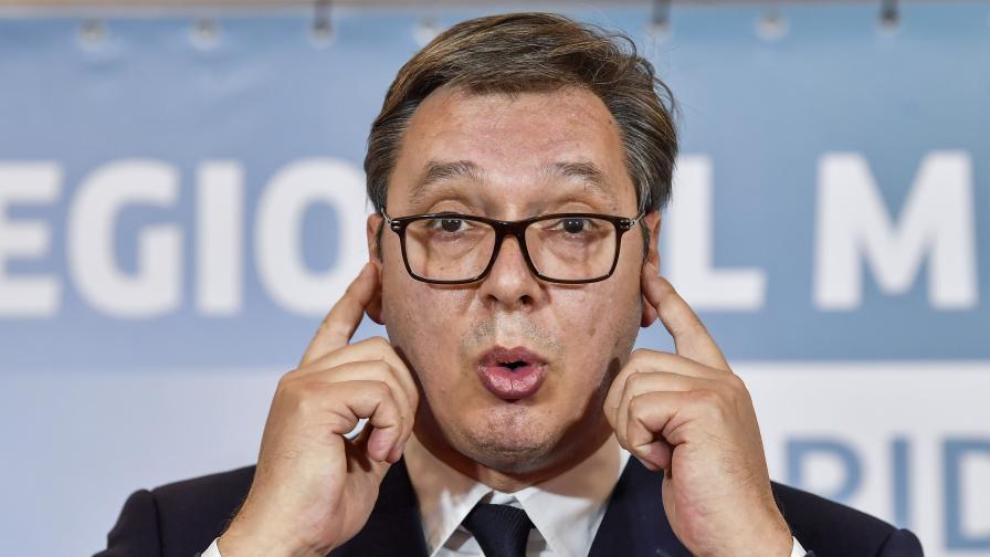 """Вучич иска """"Малък Шенген"""", в Косово сочат към Путин"""