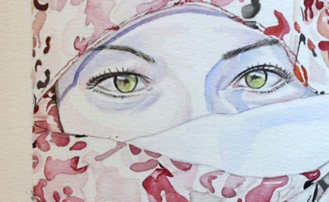 Джино Галанте и неговите портрети на жени (СНИМКИ)