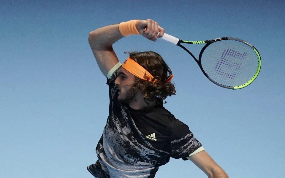 Циципас сломи Федерер и е на финал при дебюта си в Лондон