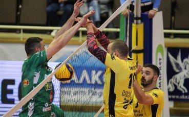 COVID-19 отложи волейболното дерби между Хебър и Добруджа