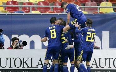 Швеция премина през Румъния и се класира за Евро 2020