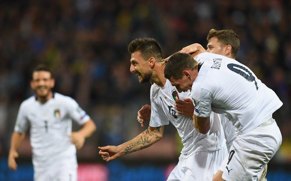 Отборът на Италия победи с 3:0 Босна и Херцеговина и