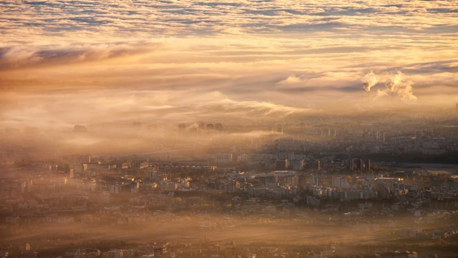 Мръсният въздух над София