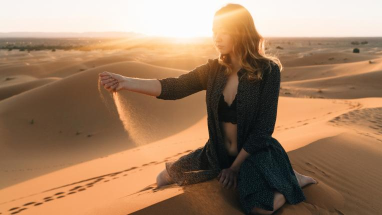 жена пустиня