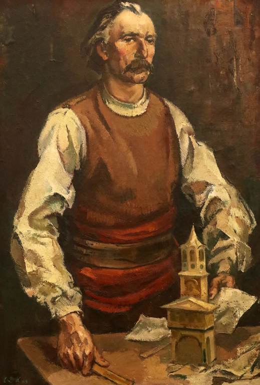 <p>Портрет на Колю Фичето</p>