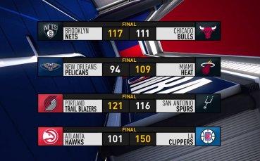 Най-интересното от мачовете в НБА тази нощ