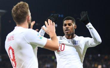 Англия завърши на висока предавка срещу Косово в мач без значение