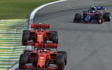 Формула 1 с ръст на телевизионната аудитория през 2019