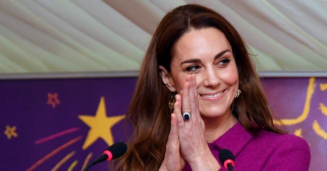 Херцогинята на Кеймбридж продължава да създава впечатление за изключително земна