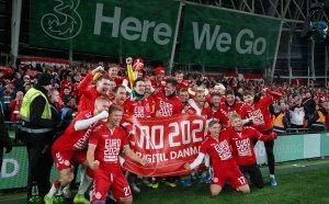 Дания удържа храбрите ирландци в Дъблин