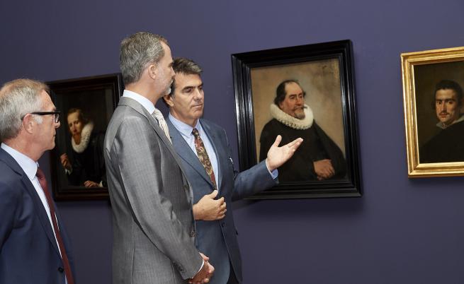 Испанският крал Фелипе VI  посещава музея