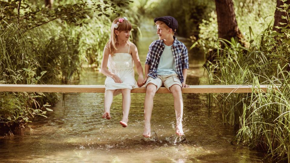 двойка първа любов щастие