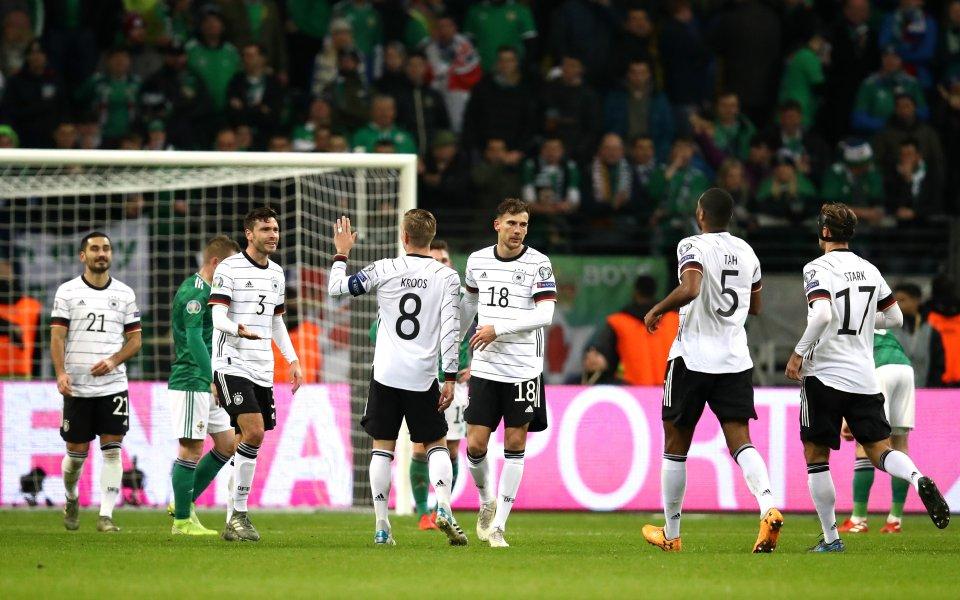Тимът на Германия разгроми с 6:1 Северна Ирландия в последния