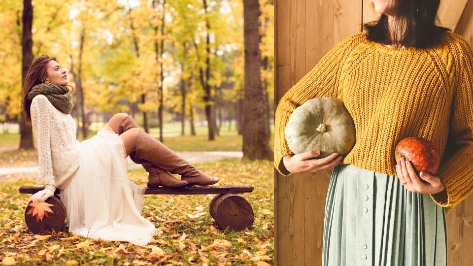 пуловер мода есен