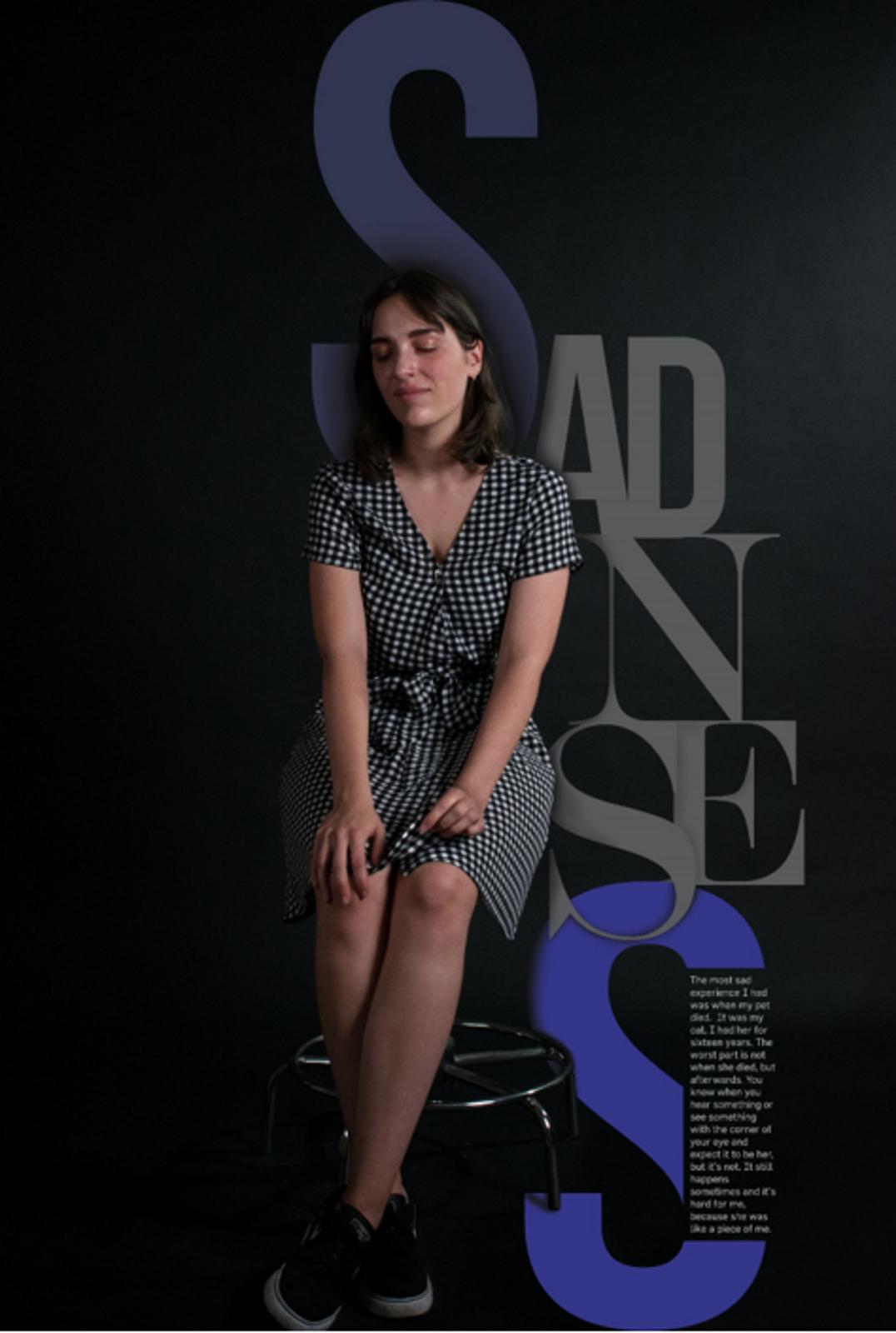 <p>Силвана Собрал е на 22 години от Португалия. Тя губи своя домашен любимец, малко след загубата и на близък човек. За нея е било мъчително как продължава да вижда неща, които вече ги няма.</p>