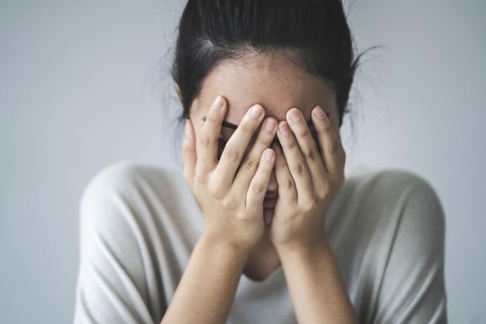 жена тъга самота