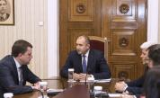 Румен Радев се срещна с кмета на Перник Станислав Владимиров