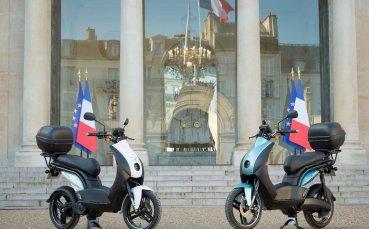 Peugeot Motocycles се включва в енергийния преход на Елисейския дворец с e-Ludix