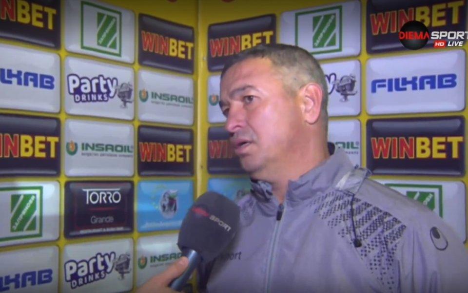 Помощник-треньорът на Ботев Пловдив Диян Божилов коментира успеха на тима