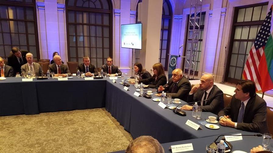 Борисов пред бизнеса в САЩ: Отдаваме голямо значение на сътрудничеството