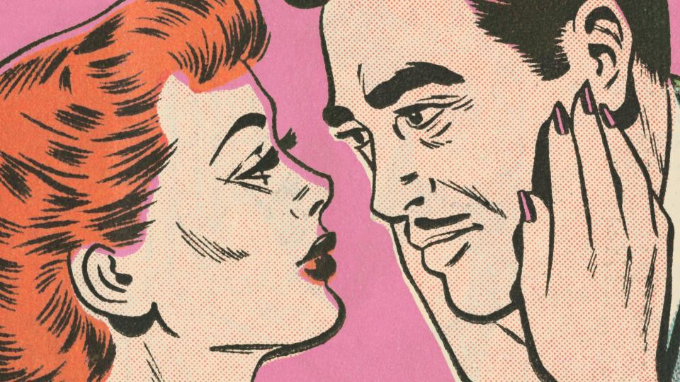 двойка любов винтидж ретро