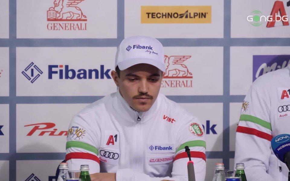 Попов: Доволен съм, трябва да повярвам още малко в себе си